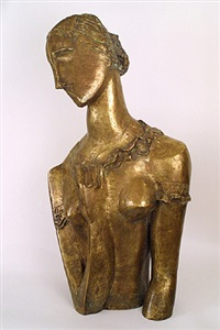 the woman in painting and sculpure by ossip zadkine