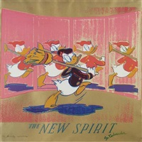 the new spirit (donald duck), from <i>ads</i> by andy warhol