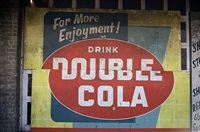 double cola sign, beale street, memphis, tn by william christenberry