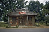 coleman's cafe, greensboro, alabama by william christenberry