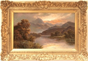 in the trossachs by frank hider