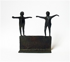 untitled (two figures) by louise kruger