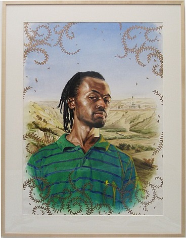 likunt daniel ailin (the world stage: israel) by kehinde wiley