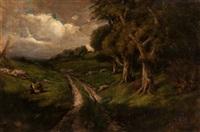california landscape by william keith