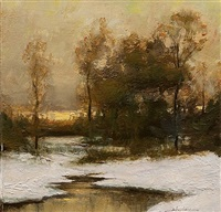 winter (sold) by dennis sheehan