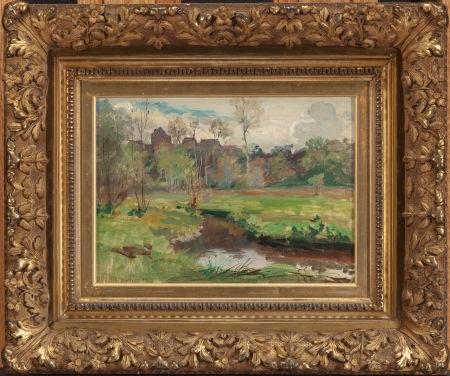 landscape boigneville france by walter griffin