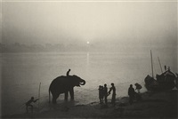 dawn, the elephant festival, bihar by don mccullin