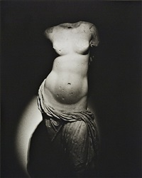 aphrodite, found in the hadrianic baths of leptis magna, tripoli castle museum, tripoli, libya by don mccullin