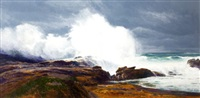 bodeful comber (point lobos) by curt walters