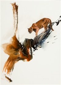 solitary hunter by morten e. solberg