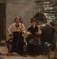 sketch for the quartette by william turner dannat