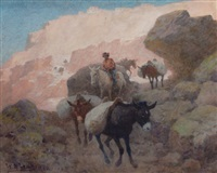 the mesa trail by william robinson leigh