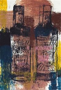 rum bottles by enoc perez