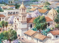 spring in old mexico by thomas hill