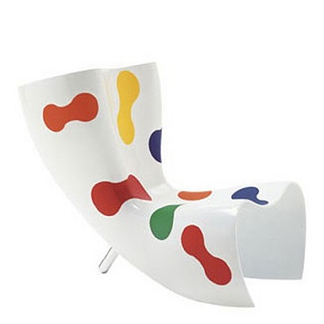 felt chair limited edition by marc newson