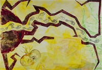 jk's walk iv by francesco clemente