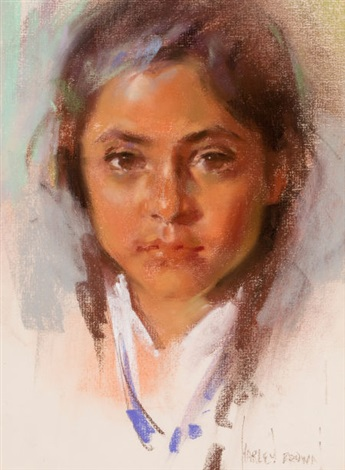 indian girl by harley brown