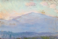 mt. monadnock by ellen day hale