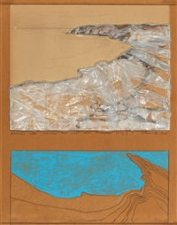 packed coast (project for west coast 15 miles long) by christo and jeanne-claude