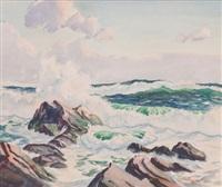 crashing waves by paul lauritz