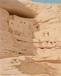 cliff dwelling by clyde eugene scott