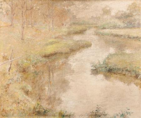 spring stream by robert reid