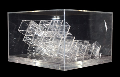 transparent sculpture no iv by louise nevelson