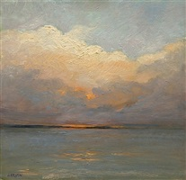 cloud rush on long island (sold) by sandy garvin