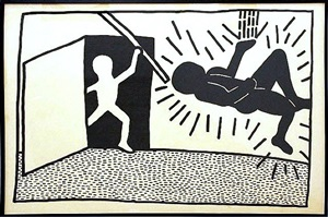 p.s. 122 by keith haring
