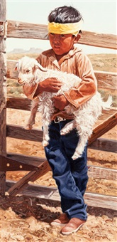 mr. begay's baby goat by ray swanson