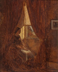 by the window by william john hennessy