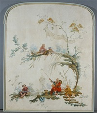 chinoiseries by jean baptiste pillement
