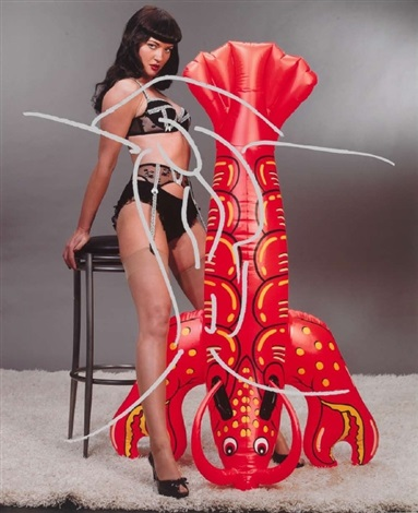 untitled gretchen mol as bettie page by jeff koons