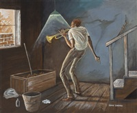 trumpet solo by ernie barnes