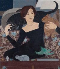 portrait of martha by will barnet