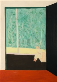 from the studio by milton avery