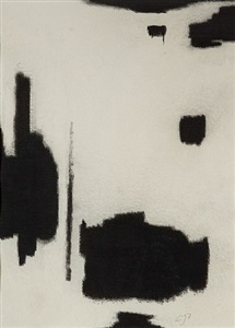 untitled drawing 2 by charles pollock