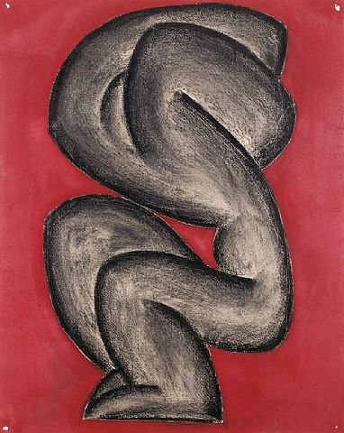 the dance of agony by richard pousette-dart
