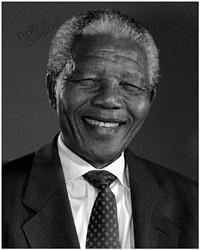 mandela portrait, south africa,1994 by jürgen schadeberg