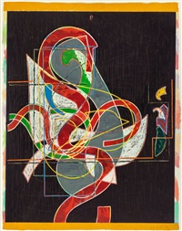 pergusa three (from the circuits series) by frank stella