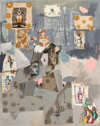new yorkers of the 19th century by george condo