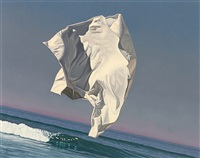 small thrown drapery by david ligare
