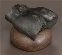 torso fragment (two-piece sculpture) by robert graham