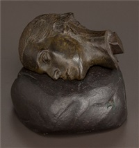 fragment head (christine) (two-piece sculpture) by robert graham