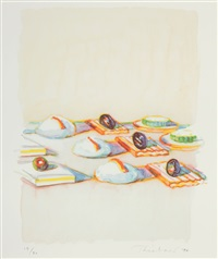 appetizers (from the physiology of taste series) by wayne thiebaud