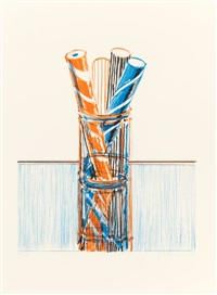 glassed candy (from the presidential portfolio) by wayne thiebaud