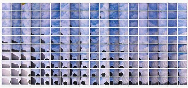 musica dallo spazio by maurizio galimberti