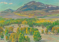 taos valley by joseph henry sharp