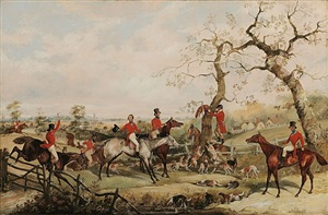 the end of the chase by henry alken