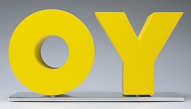 oy/yo by deborah kass